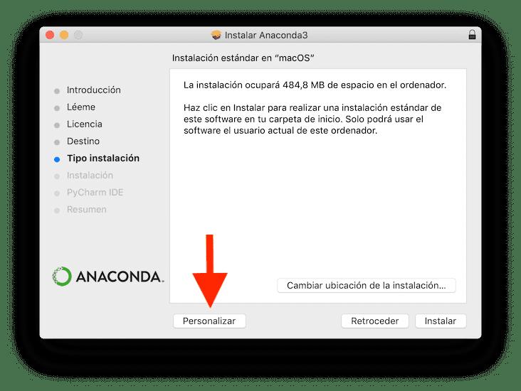 Instalar Anaconda de forma limpia